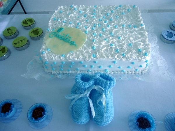 Realizando Sonhos Decoração De Festas Chá De Bebê Menino Azul