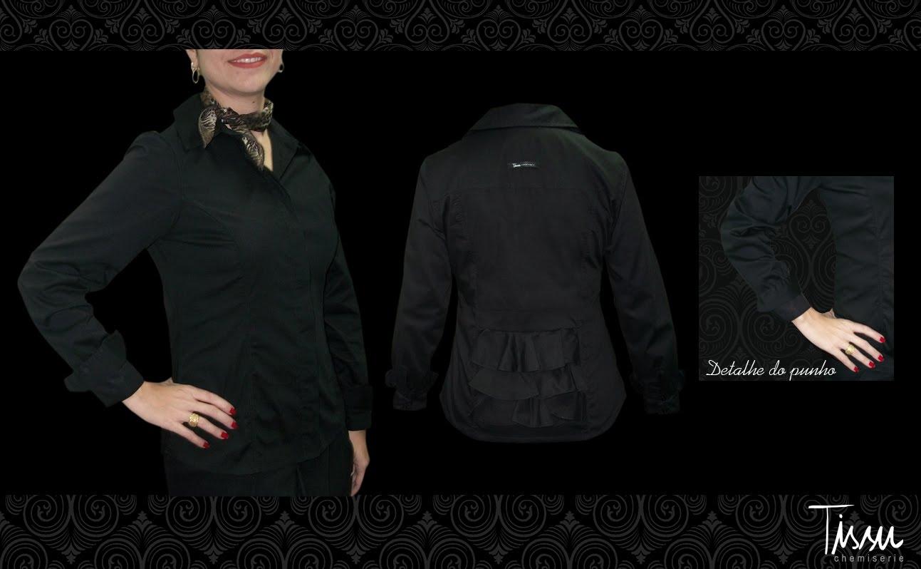5e492fb59 A camisa preta é belíssima, não é? Já postamos com a dica de usá-la com um  lencinho, já aproveitando para mostrar que animal print pode sim ficar  muito ...
