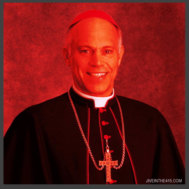 Photograph of Anti-Gay Archbishop Salvatore Cordileone