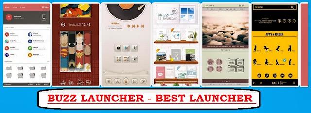 Buzz Launcher Best Android Launcher