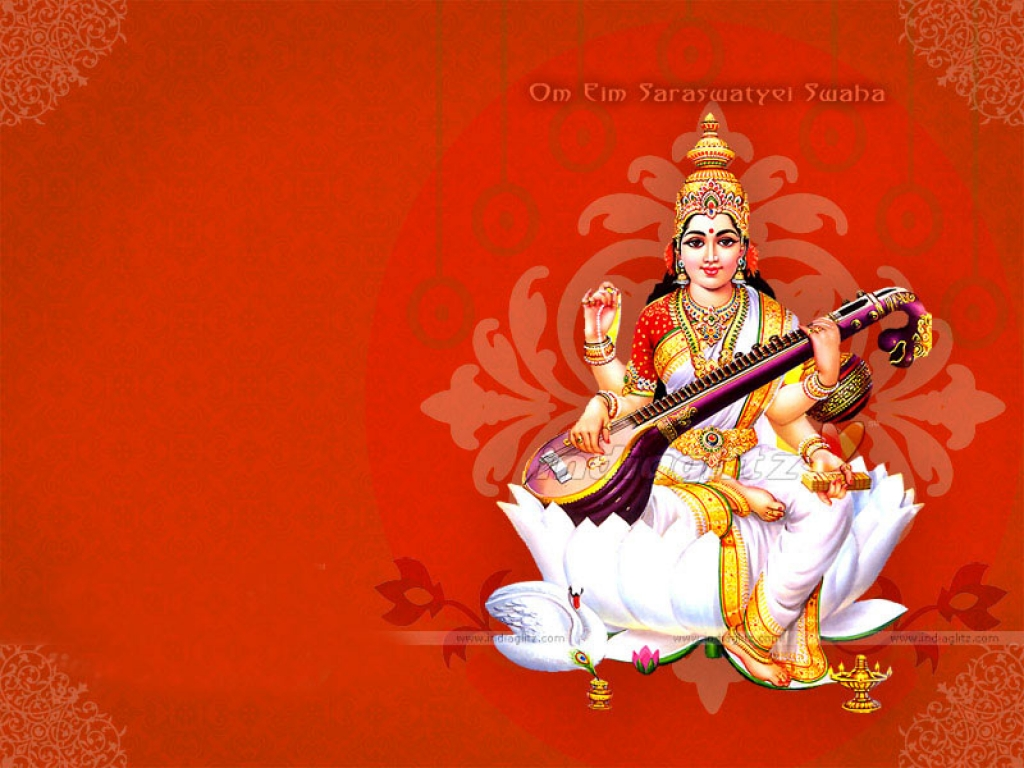 Maa Saraswati HD Wallpapers | Hindu God HD Wallpapers