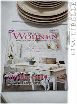 """LISA LIBELLE in der Zeitschrift """"TRAUM WOHNEN"""" - Was ist eigentlich Shabby Chic"""