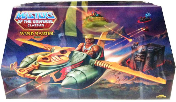 Blister Wind Raider MOTUC
