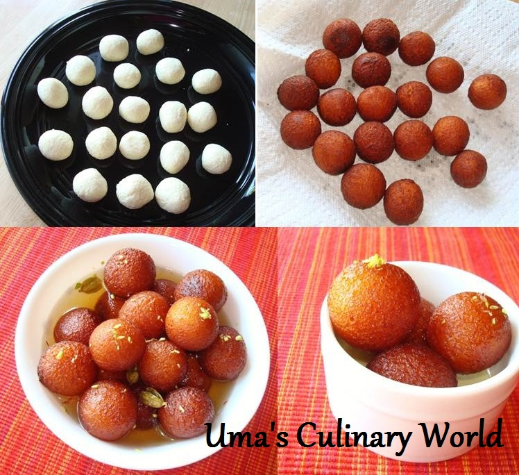 how to prepare gulab jamun mix