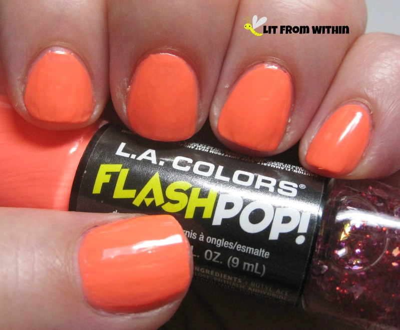 LA Colors Flash Pop in Mad Duo