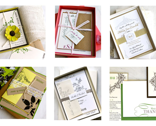 luxury eco invitations