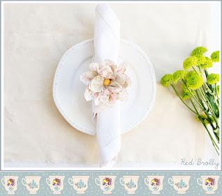 Flor de tecido romântica passo a passo