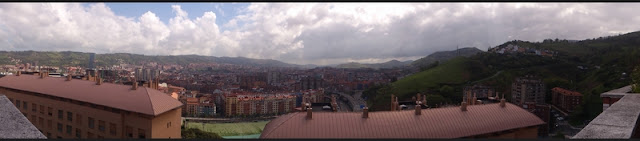 vista panorámica de Bilbao