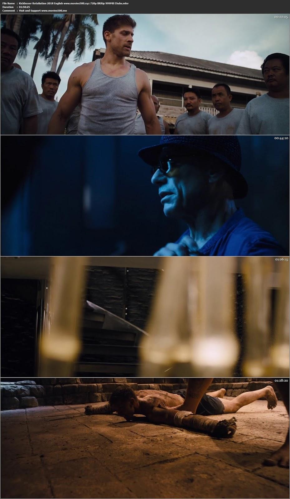 Kickboxer Retaliation 2018 English Full Movie BRRip 720p ESubs at 9966132.com