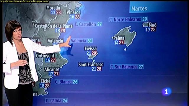Monica Lopez El Tiempo Telediario