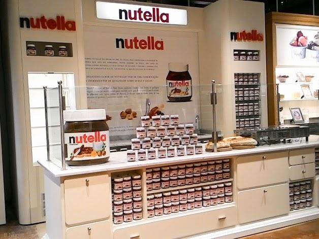 Primeiro Nutella Bar do Brasil