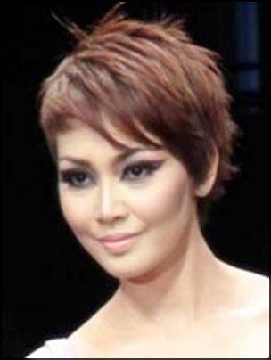 Rambut Pendek Artis Indonesia