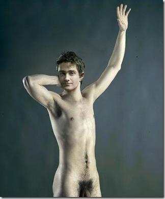 Nacktes Bild von Daniel Radcliffe