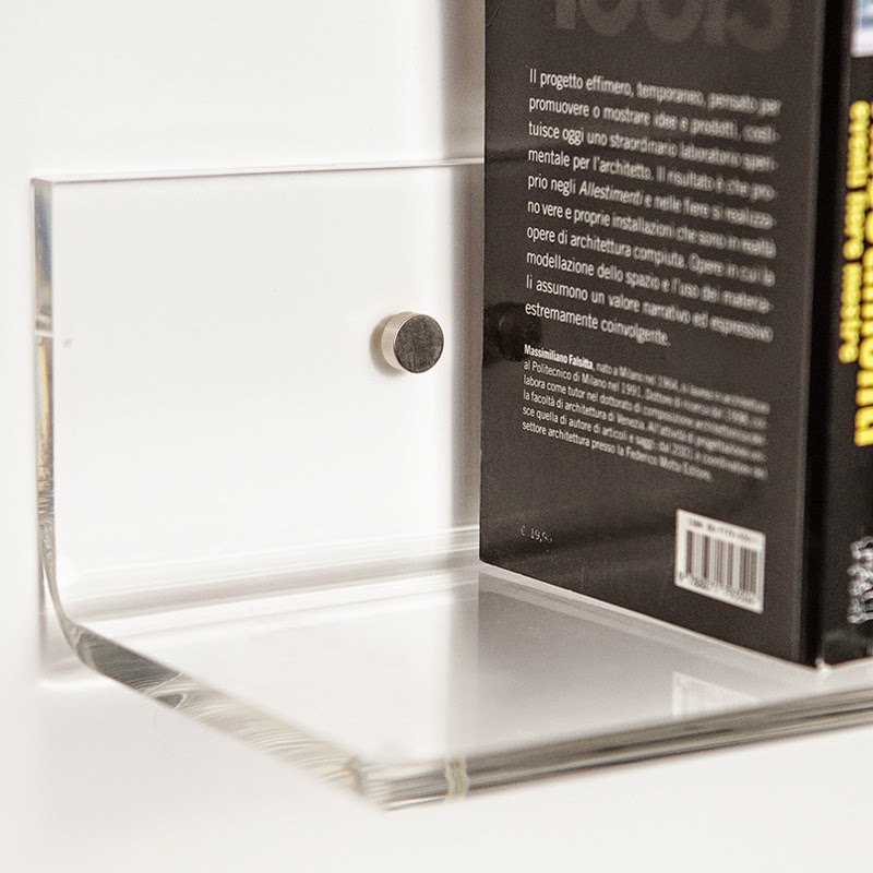 Mensole trasparenti moderne