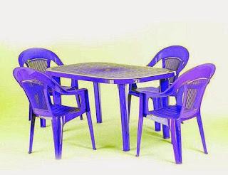 Фото пластиковой мебели стулья и столы