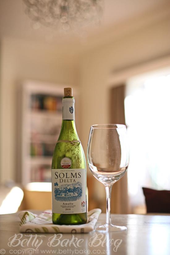 solms delta, wine, white wine, amelie, 2010