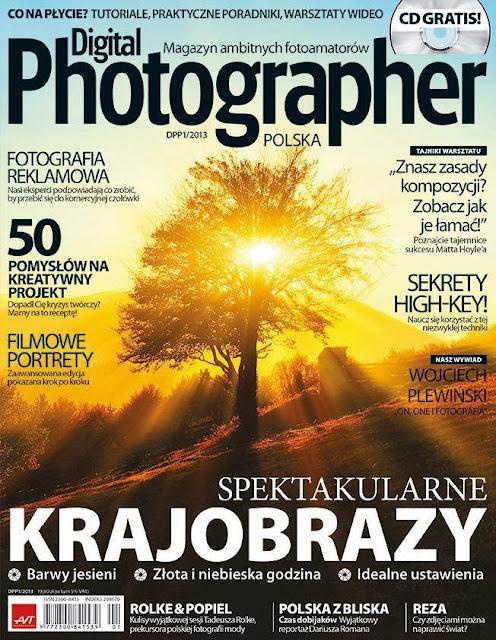 Digital Photographer Polska, dwumiesięcznik fotograficzny, numer pierwszy