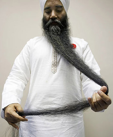 World S Longest Beard Myclipta