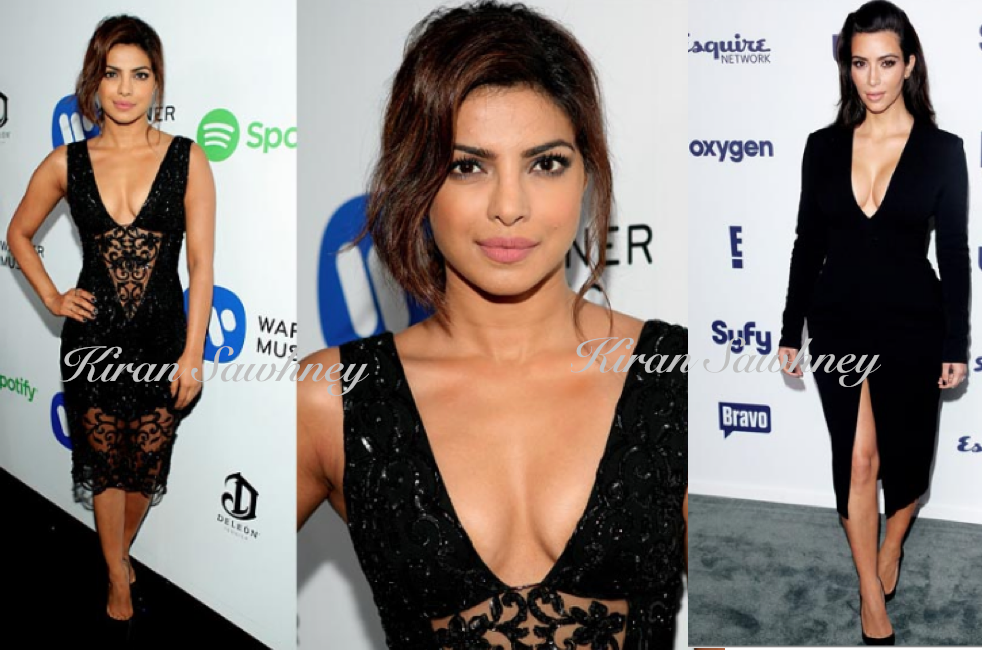 Priyanka Chopra in  Zuhair Murad at Grammy party