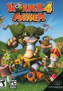 Game Worms 4 Mayhem