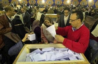 egypt awaits election results