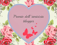 IL PRIMO PREMIO DEL MIO BLOG