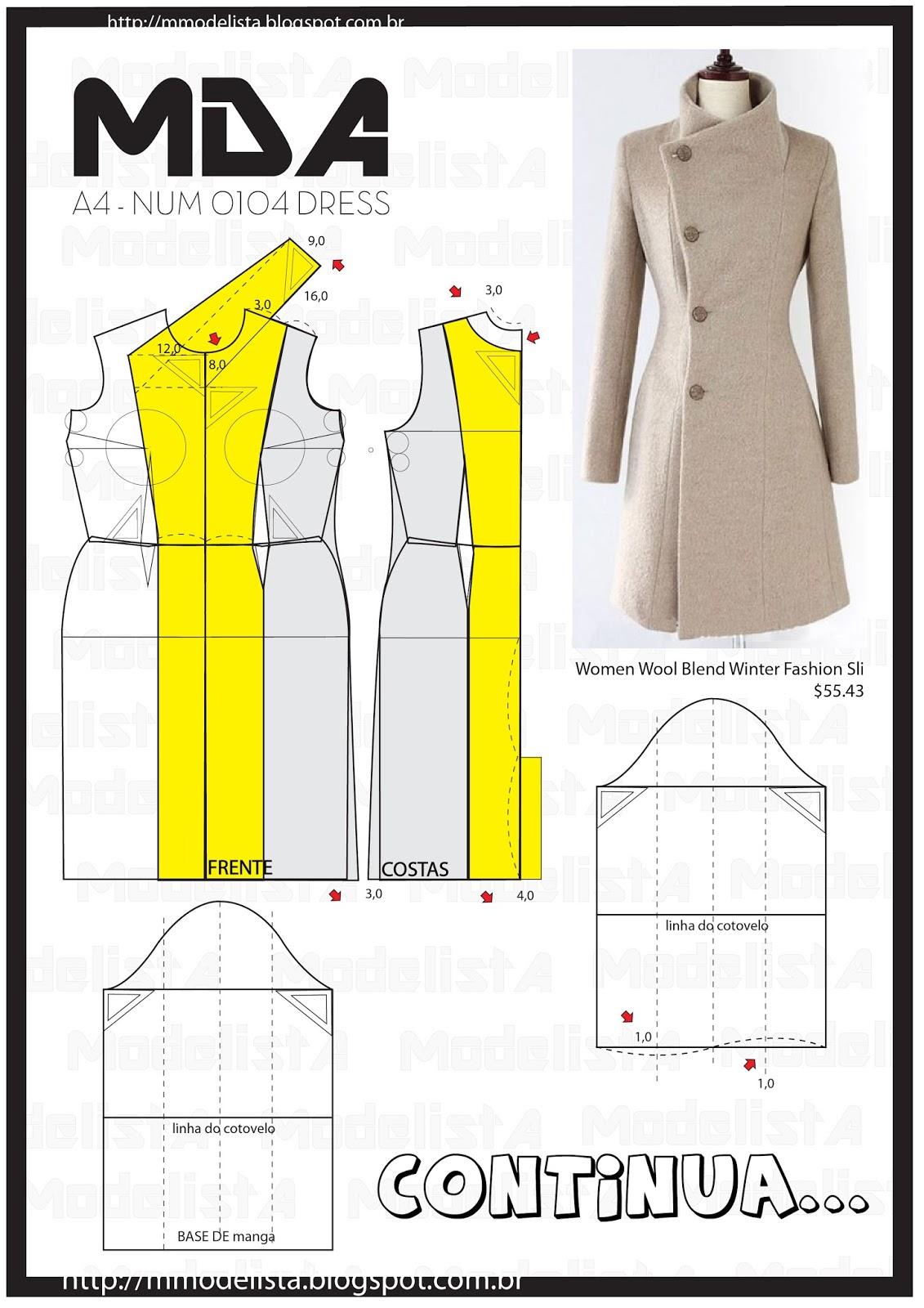 Как просто сшить пальто для начинающих простые выкройки своими руками
