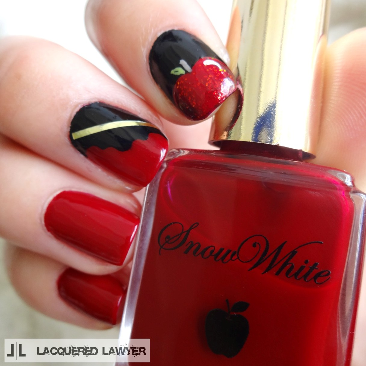 Lacquered Lawyer | Nail Art Blog: Snow White