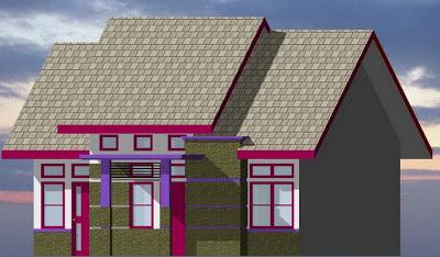 Desain Rumah Minimalis Type 80/152