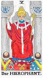 Значение на Таро карта V Висшият жрец - хороскоп за 2015 година