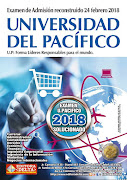 Examen U. Pacifico 2018