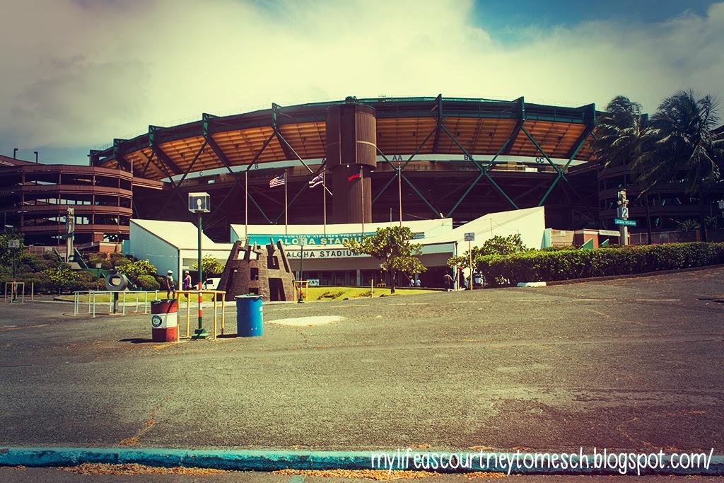 Oahu Hawaii Aloha Stadium