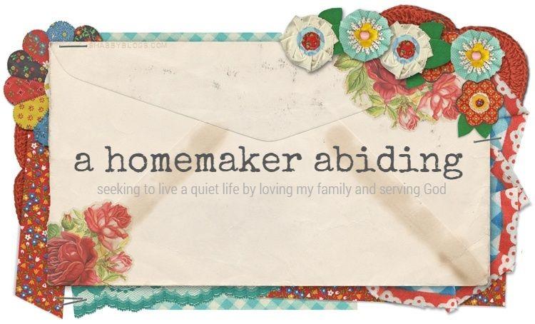 a homemaker abiding