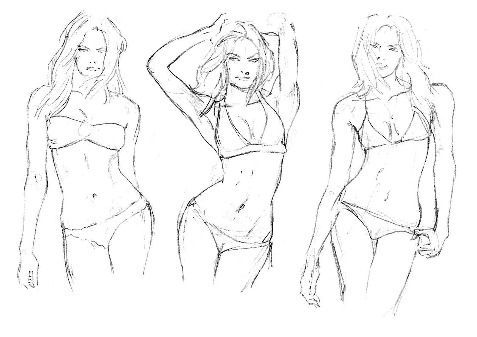 Female Figure Drawing Tutorial