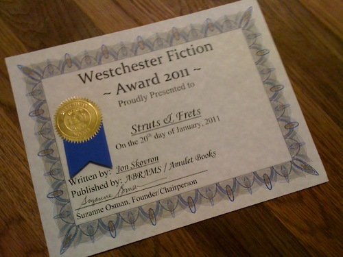 Westchester Young Adult Fiction Award