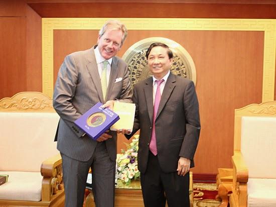Việt Nam – Vương quốc Bỉ: Hợp tác xây dựng quy hoạch và điều tra đánh giá đất đai