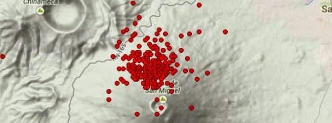 Actividad sismica El salvador