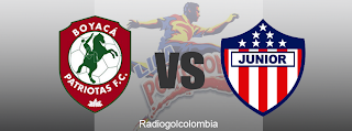Patriotas vs Junior en vivo - FPC DIRECTV