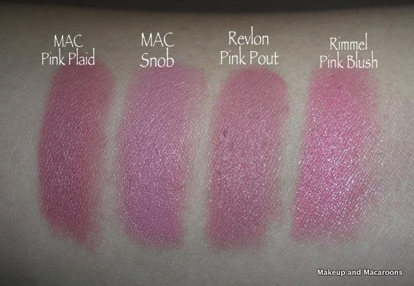 mac pink plaid vs please me - photo #32