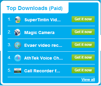 Skype top Application for Download