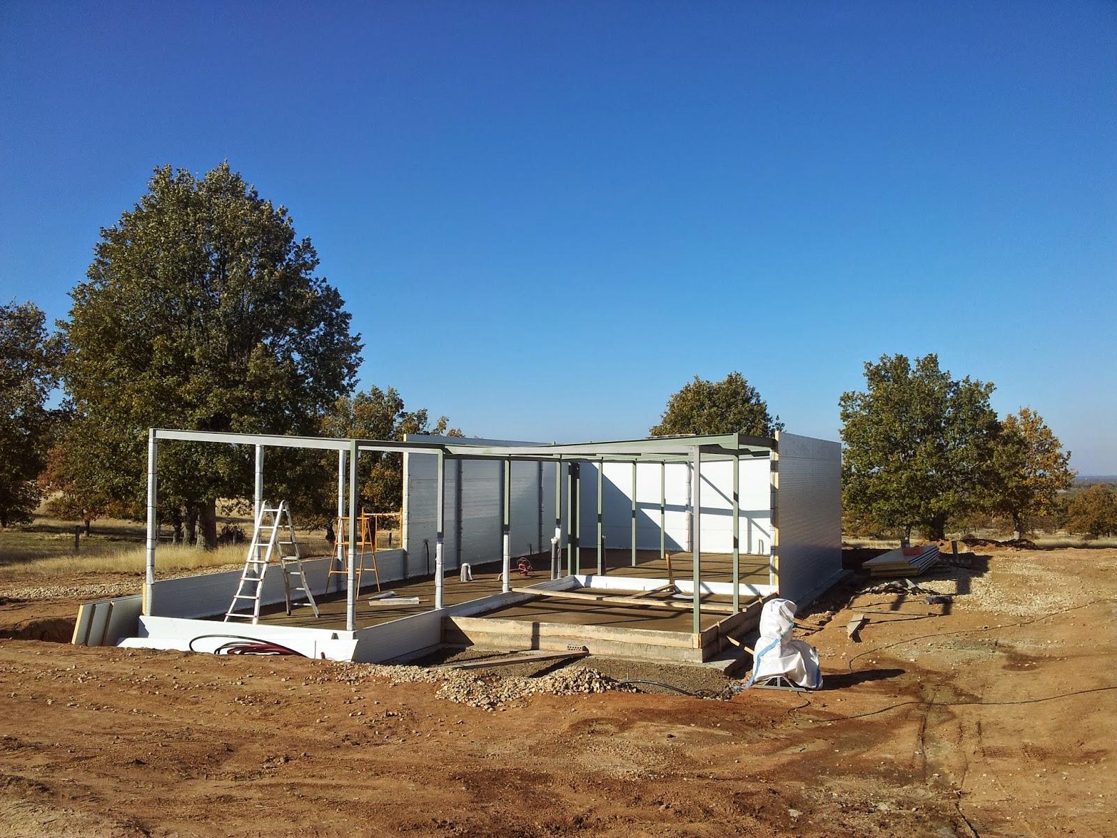 Construcción de vivienda modular de Resan