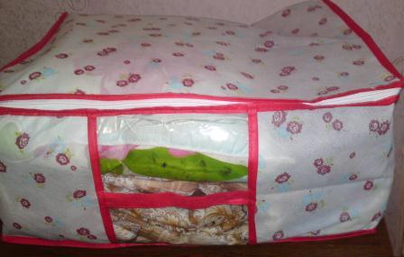 Сумка для хранения одеял и