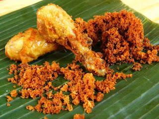 Resep Ayam Goreng Kremes Spesial
