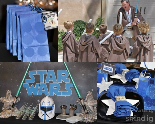 FIESTAS INFANTILES STAR WARS PARTY IDEAS DE CUMPLEAÑOS STAR WARS DECORACION STAR WARS