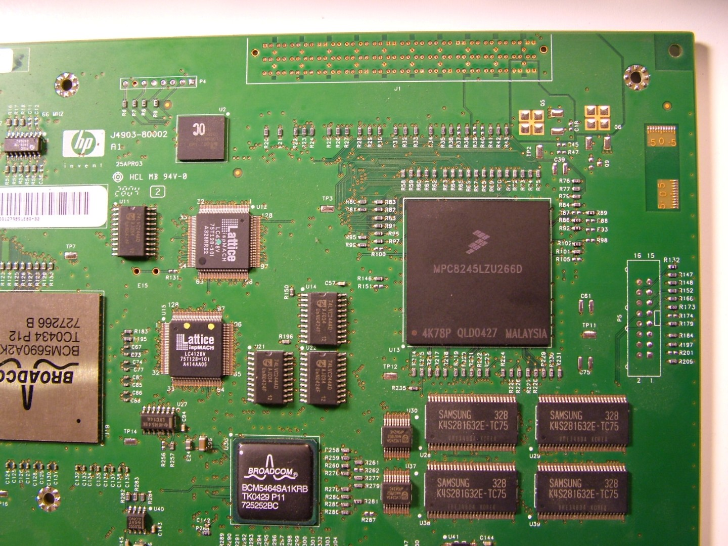 The Life Of Kenneth Tear Down An Hp Procurve 2824 Ethernet Switch 4 Way Is Hierarchical Switching Hardware Which Operates As Independent System From Processor To Frames One Port Another