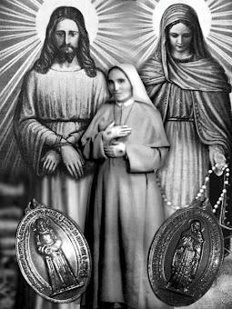 Nossa Senhora das Lágrimas, Jesus Manietado e Santa Amália Aguirre.
