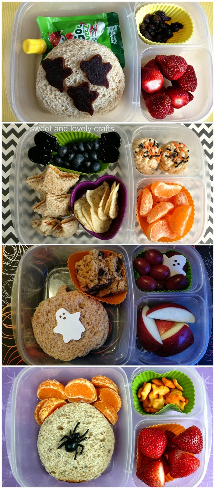 sweet and lovely crafts: halloween lunches part 3