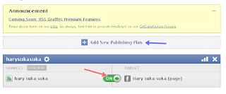 Cara Kirim Postingan Blog Ke Facebook Secara Otomatis