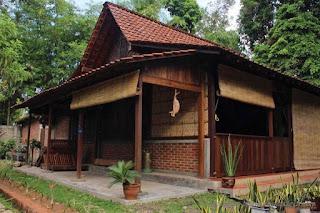 Contoh Desain Rumah Etnik Jawa Minimalis 2