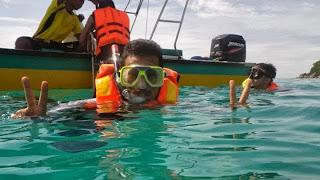 Snorkeling, Pulau Tioman, Tioman Island